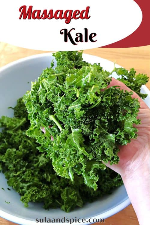 pin for massaged kale