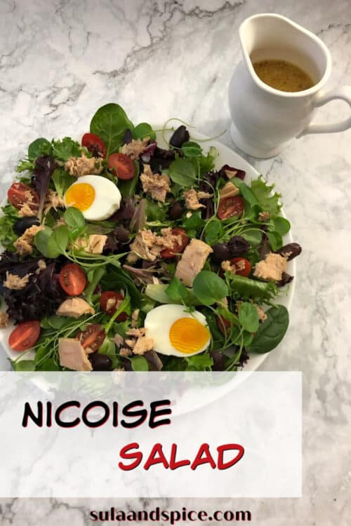 Pin for Nicoise Salad