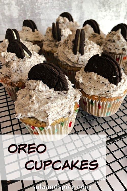 Oreo cupcakes pin