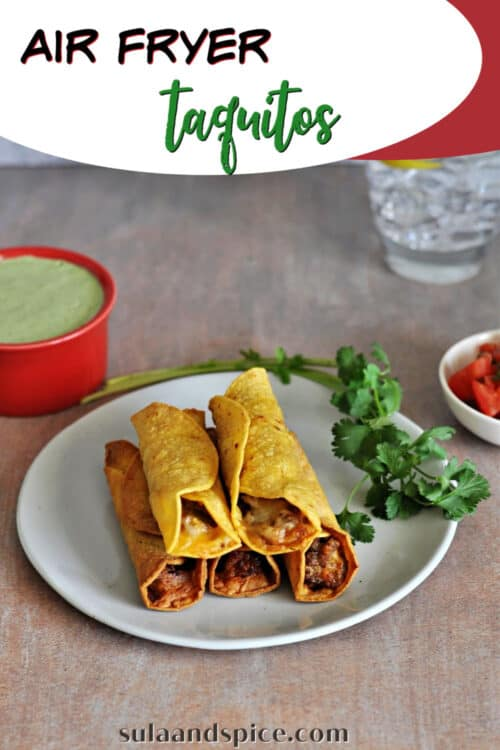 pin for air fryer taquitos