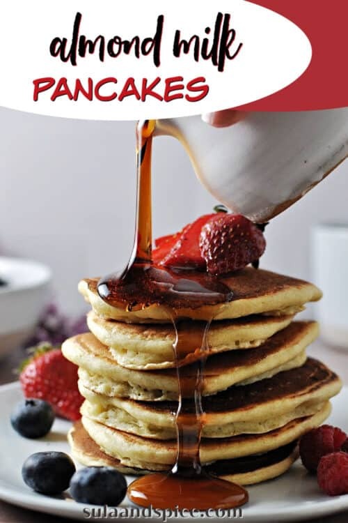 pin for almond milk pancakes