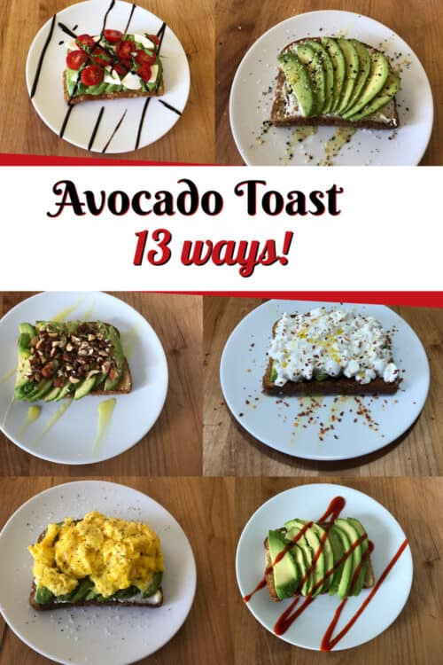 Pin for Avocado Toast