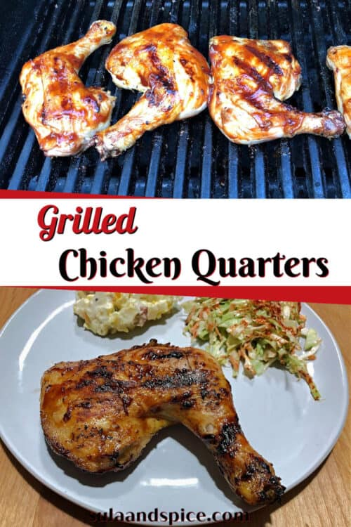 pin for grilled chicken leg quarters