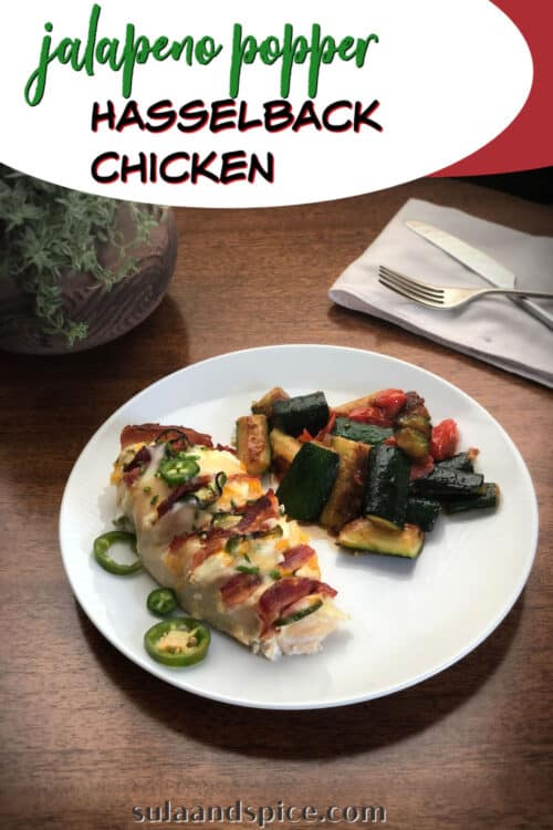 pin for jalapeno popper hasselback chicken