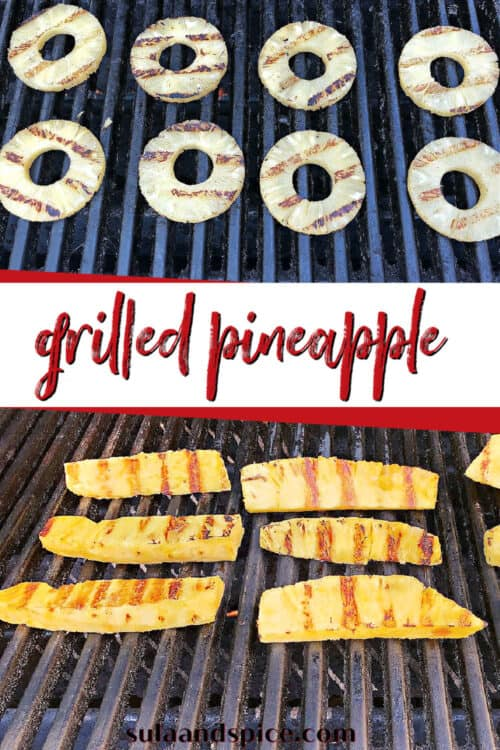 pin for grilled pineapple