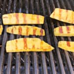 pineapple spears on the grill