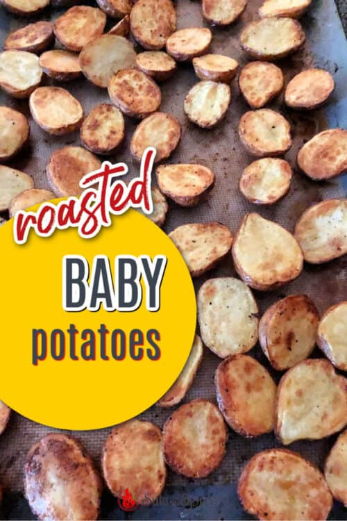 pin for roasted baby potatoes