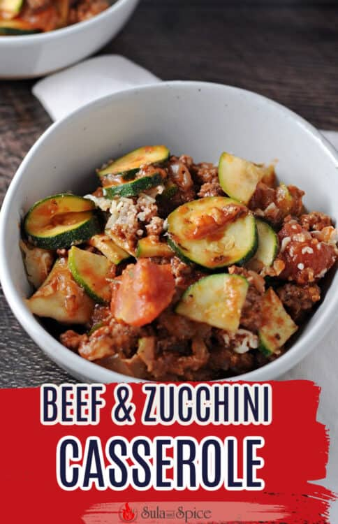 pin for zucchini and ground beef casserole