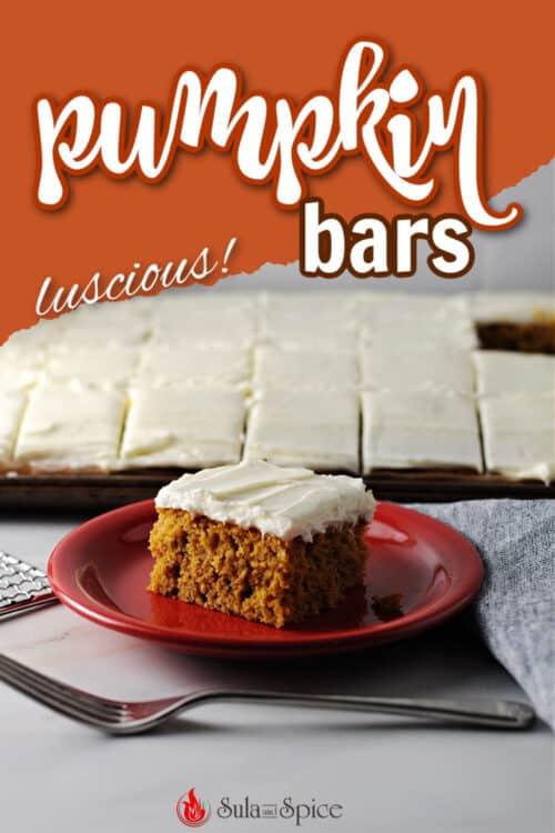 pin for pumpkin bars